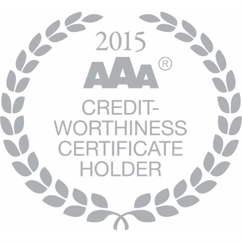 aaa credit worthiness certificate holder 2015